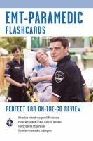 EMT-Paramedic Emergency Medical Technician - Paramedic Exam by Jeffrey Lindsey RC 86.9 .L57 2010