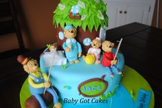 Berenstain Bears Tree House Cake Children S Party Ideas