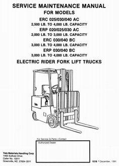 73 best yale instructions manual images atelier circuit diagram rh pinterest com