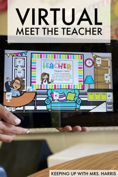 Meet The Teacher, School Classroom, Google Classroom, Classroom Ideas, Online Classroom, Primary Classroom, Flipped Classroom, Back To School Activities, School Ideas