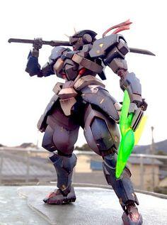 GUNDAM GUY: HG 1/144 Hyakuren Warrior - Customized Build