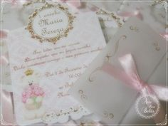 Convite Ursinha Princesa