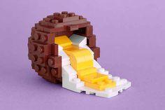 Like a Cadbury Creme Egg.   21 Whimsical LEGO Creations By Chris McVeigh