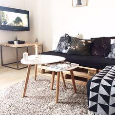 Nordisk inspireret stue - @ceciliesbolig