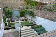 London urban garden
