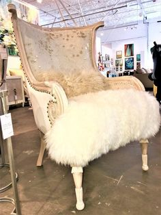 Zsa Zsa Chair #repurposedfurniture #furniture