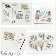 Creative and Chic – Illustrated Wedding Invitation Stuff We Love Special Illustrated Wedding Invitations, Handmade Wedding Invitations, Wedding Stationary, Wedding Cards, Wedding Events, Wedding Illustration, Flower Graphic, Lake Tahoe Weddings, Stationery Items
