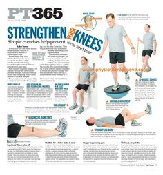 Mil Muscle columnist Bob Thomas focused this week on a joint that causes a lot of us pain and worry: our knees. A meniscus tear can result from a single dynamic rotation of the knee or a lifetime o. Pilates, Knee Strengthening Exercises, Exercises For Knee Injuries, Hamstring Exercises, Chair Exercises, Acl Recovery, K Tape, How To Strengthen Knees, Knee Arthritis