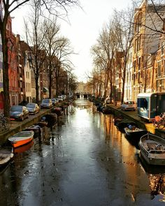 Lost in Amsterdam Canals... Photo by @the_daily_traveller! What an amazing city...