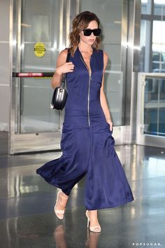 Pin for Later: Victoria Beckham's 1 Rule For Travel Style Is About to Change Your Life Shop For a Jumpsuit Like Victoria's