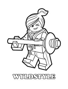 Coloring Page Lego Movie