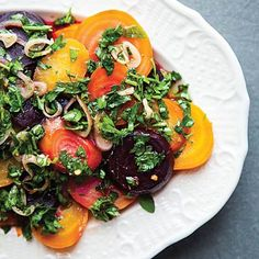 Roasted Beets With C