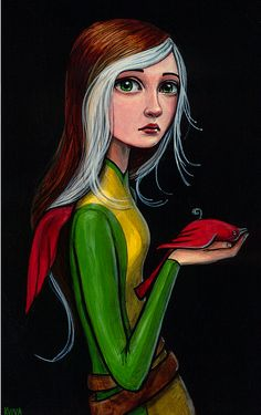 Rogue Drawn ByKelly Vivanco