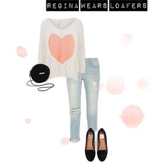 Designer Clothes, Shoes & Bags for Women Loafers, Ootd, Shoe Bag, Casual, Polyvore, How To Wear, Stuff To Buy, Outfits, Shopping