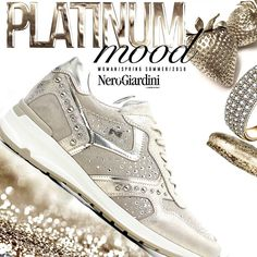 4f5fefa08d0ce6 Nero Giardini: Sneakers platino per la Primavera/Estate 2016 -  www.tomacalzature.