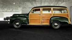 ralph lauren's 1948 ford woody station wagon.