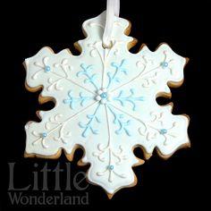 Galletas de Navidad   snowflake