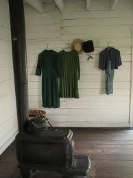 Inside an Amish home