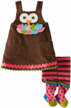 Amazon.com: Mud Pie Baby-Girls Newborn Owl Jumper with Tights: Clothing