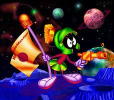 Marvin the Martian Wallpaper | Marvin Martian by BeenieMaster by MartianLovers