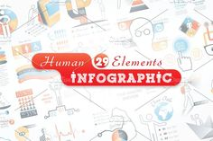 Human Infographic Bundle by Infographic Paradise on @creativemarket