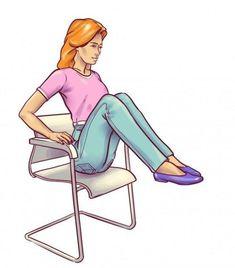 6 ασκήσεις, μια καρέκλα και μια…..επίπεδη κοιλιά!! | Μυστικά ομορφιάς | mystikaomorfias.gr Zumba, Aurora Sleeping Beauty, Health Fitness, Gym, Disney Princess, Brittle Nails, Fitness Workouts, Exercises, Crafts