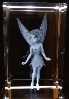 Tinker Bell 3 - Fairies and Story Characters 3D Crystals - Ovid Gifts