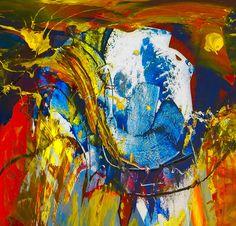 Fredy Holzer, Retrato abstracto 6a on ArtStack #fredy-holzer #art