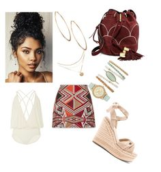 """""""Untitled #86"""" by rannegomez on Polyvore featuring Lenny, Kendall + Kylie, See by Chloé and Lydell NYC"""