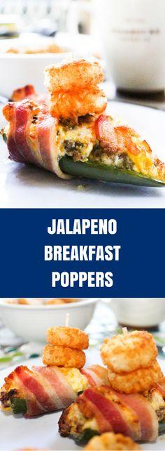 Jalapeno Breakfast Poppers | Daily Dish Magazine
