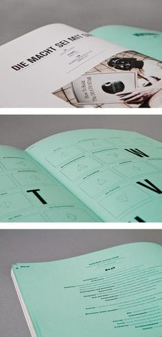 DEAF MAGAZINE by MORPHORIA DESIGN COLLECTIVE