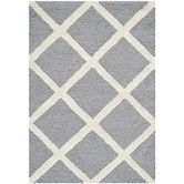 Found it at Wayfair - Cambridge Silver / Ivory Rug