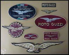 Ecusson patch moto guzzi made italia