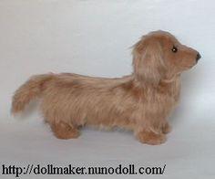 How to sew a dachshund Dog