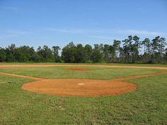 Backyard baseball field for my boys.