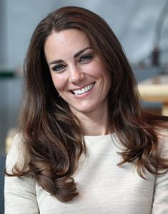 During a trip to Yellowknife, Canada, Kate showed off her beauty credentials with this effortlessly glamorous blow-dry, which saw her leaving the ends of her hair in tumbling curls.