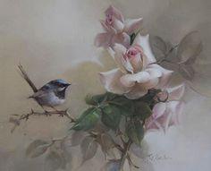 Jill Kirstein, nasceu  em Katoomba - Austrália e pinta a mais de 40 anos, sendo sua grande paixão as rosas. Pode-se encontrar pinturas d...