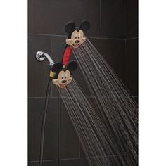 Disney Discovery- Mickey or Minnie Mouse Shower Head