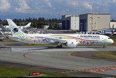 Primeros vuelos del nuevo Boeing 787-9 de Aeroméxico | EnElAire