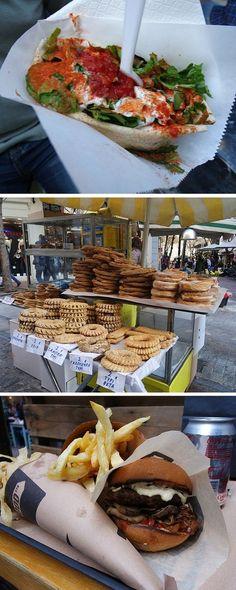 BEST STREET FOOD IN ATHENS GREECE