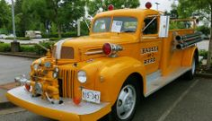 '42-'47 Fire Truck Ford