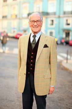 O Sr. Horácio, esse grande manual de bem vestir