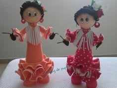 Fofuchas flamencas