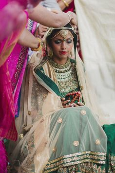 Stunning Indian Wedding: http://www.stylemepretty.com/little-black-book-blog/2014/10/23/colorful-multicultural-marbella-wedding/ | Photography: Pedro Bellido - http://www.pedrobellido.com/