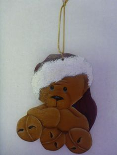 Christmas Ornament - Tole Painting, hand painted : T1 by CarolsCreations77 on Etsy