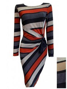 robe drapée et nouée sur le côté - CpourL Lab, Clothes For Women, Skirts, Clothing, How To Make, Dresses, Fashion, Vestidos, Draped Dress