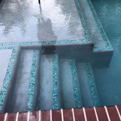 Secret Stash, x - Glass TileSecret Stash, x Swimming Pool Tiles, Swiming Pool, Swimming Pool Designs, Glass Pool Tile, Mosaic Glass, Waterline Pool Tile, Backyard Pool Designs, Backyard Pools, Pool Decks