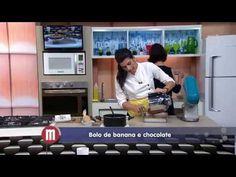 Bolo de banana e chocolate – Receitas –TV Gazeta
