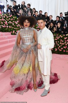Nick Jonas & Priyanka Chopra Walk First Met Gala 2019 Red Carpet as Married Couple!: Photo This is Nick Jonas and Priyanka Chopra's very first Met Gala as a married couple! The couple were seen looking so sharp on the red carpet at the annual event,… Kendall Jenner, Kris Jenner, Liam Hemsworth, Christian Siriano, Christian Dior, Cara Delevingne, Susan Sontag, Anna Wintour, Florence Welch