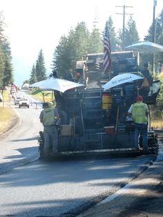 Asphalt Pavement, Monster Trucks